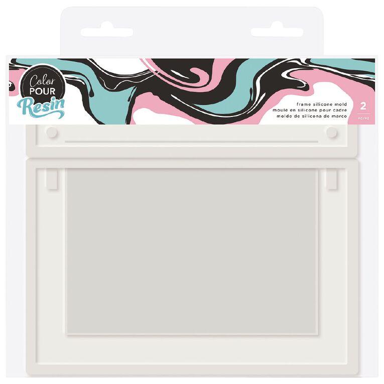 American Crafts Color Pour Mold Frame 2 Pack, , hi-res