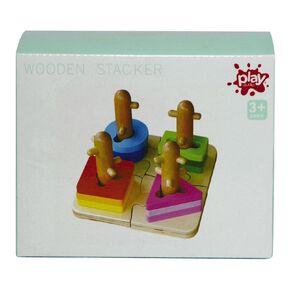 Play Studio Wooden Shape Stacker