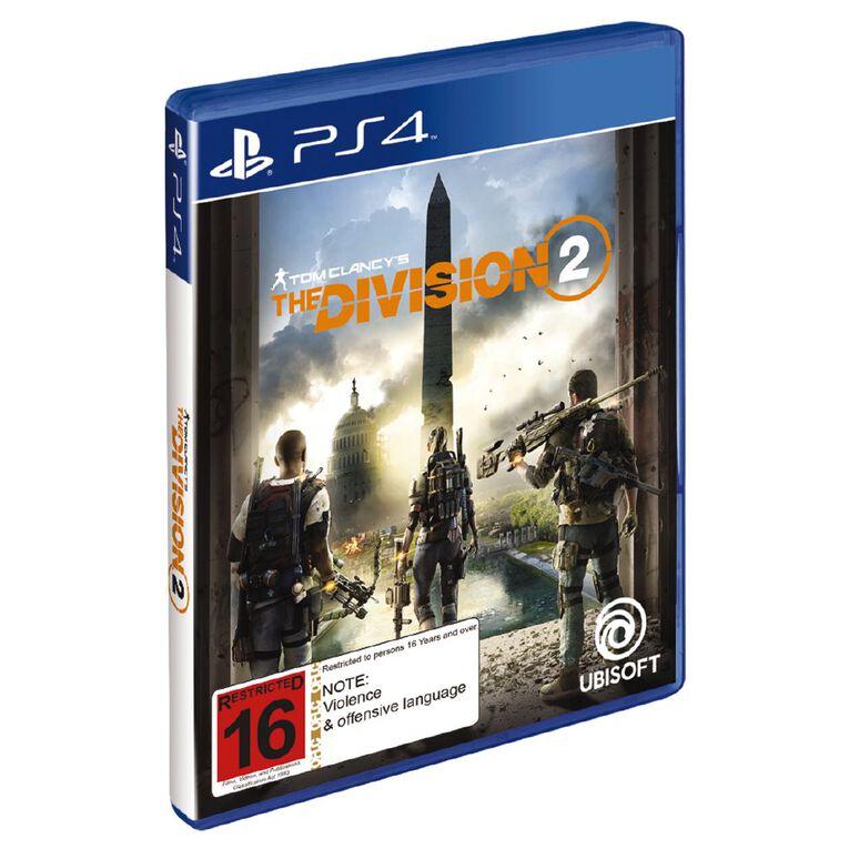 PS4 The Division 2, , hi-res