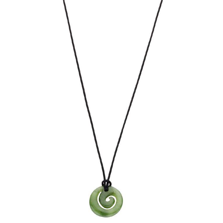 Jade Small Koru Pendant, , hi-res