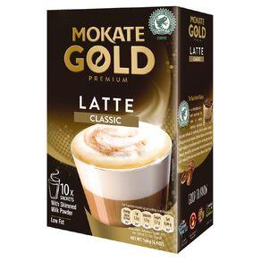 Mokate Gold Premium Latte Classic 10 Sachets