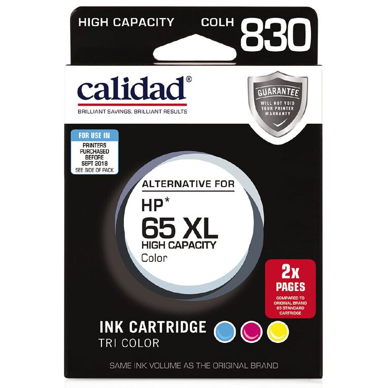 Calidad HP 65XL Tri Colour, , hi-res