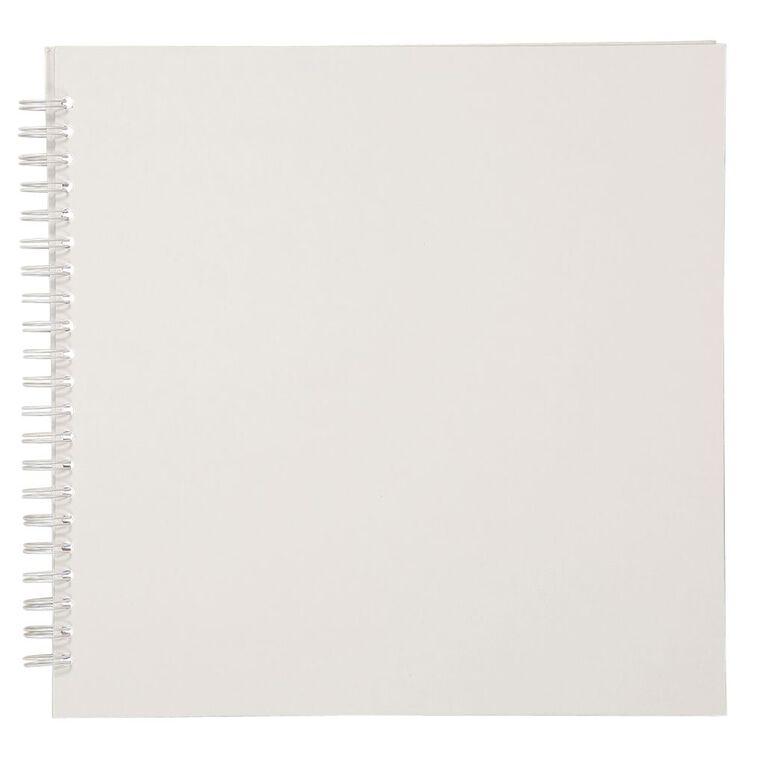 Uniti Spiral Album 12x12 White, , hi-res