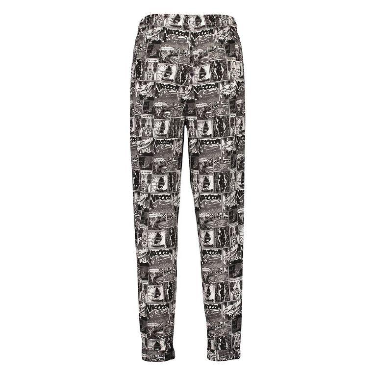 H&H Men's Knit Pyjama Pants, Grey Light, hi-res