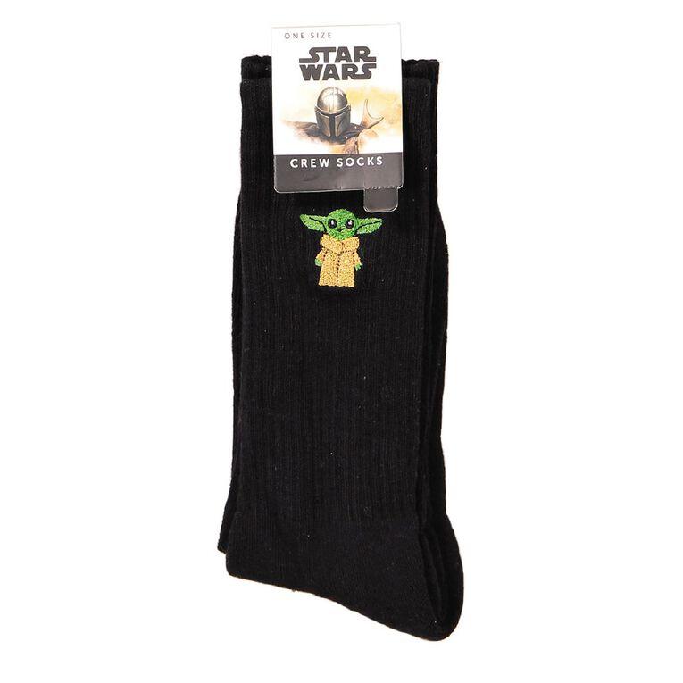 Crazy Socks Men's Rib Crew Socks 1 Pair, , hi-res