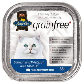 Fussy Cat Salmon & Whitefish with Olive Oil 85g