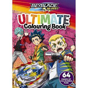 Beyblade Burst: Ultimate Colouring