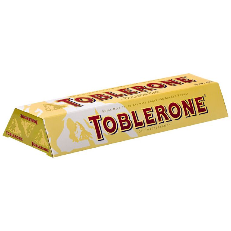 Toblerone Milk Chocolate Bullion Bar 600g (3x200g), , hi-res