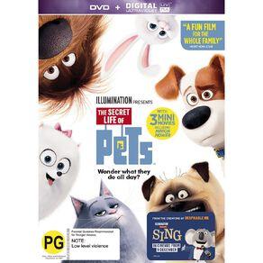 The Secret Life Of Pets DVD 1Disc