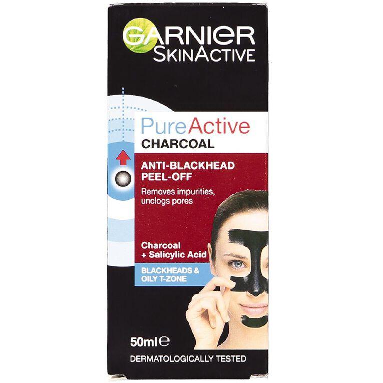Garnier Pure Active Charcoal Peel-Off Mask 50ml, , hi-res