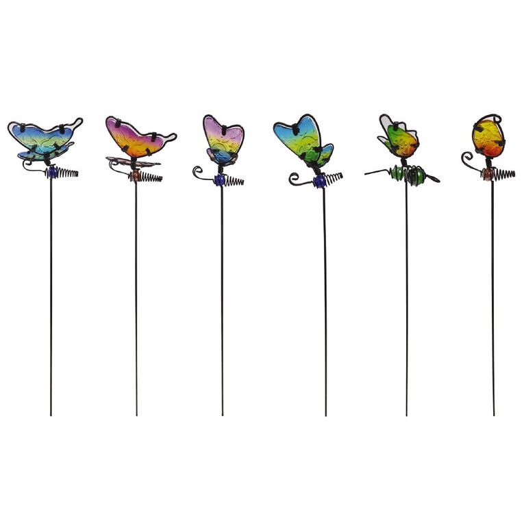 Kiwi Garden Mini Insect Stake 44.5cm Assorted, , hi-res