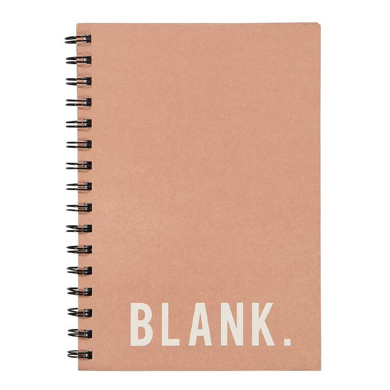 Uniti Craft Spiral Notebook Hardcover Pink A5, , hi-res