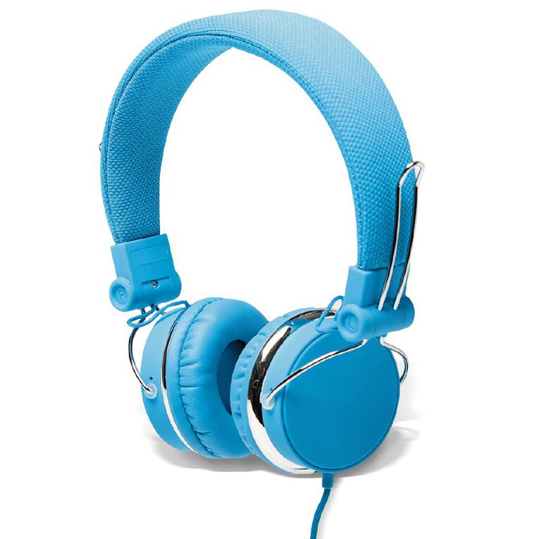 Tech.Inc Verve Headphones Neon Blue, , hi-res