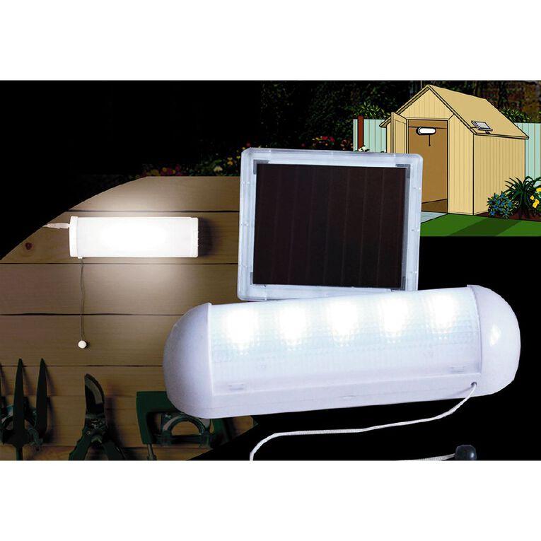 Kiwi Garden Solar Shed Light, , hi-res