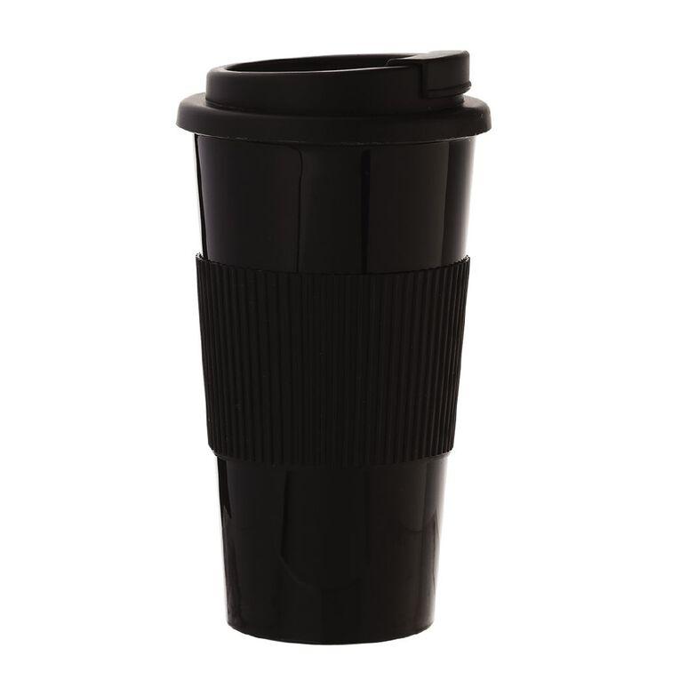 Living & Co Travel Mug Black, , hi-res
