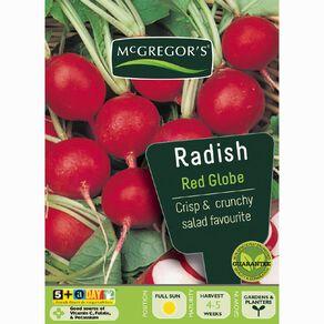 McGregor's Red Globe Radish Vegetable Seeds