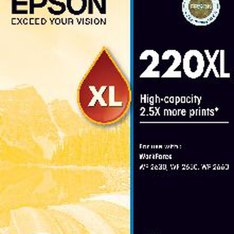 Epson Ink 220XL Yellow (250 Pages), , hi-res