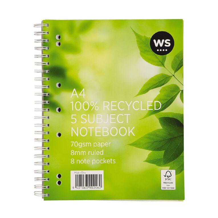 WS 5 Subject Book A4, , hi-res