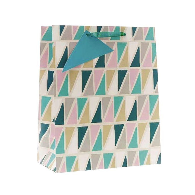 John Sands Geometric Gift Bag Large, , hi-res