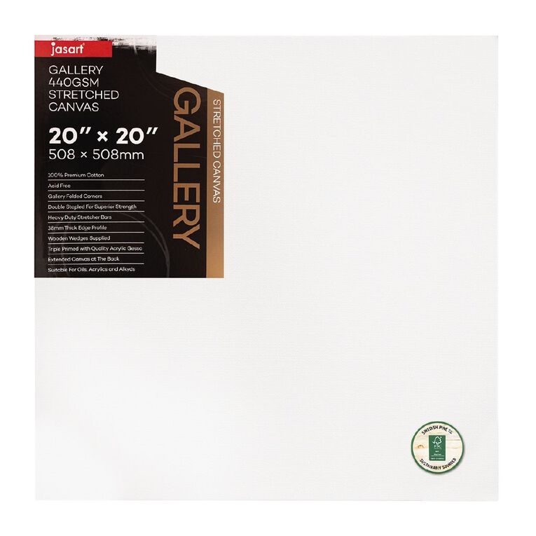 Jasart Gallery 1.5 inch Thick Edge Canvas 20x20 inches, , hi-res