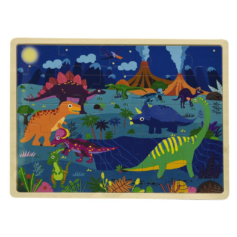 Play Studio Wooden Themed Puzzle Assorted, , hi-res