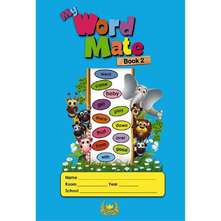 GT My Word Mate Book 2 Blue, , hi-res