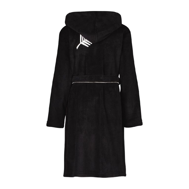 All Blacks Kids' Robe, Black, hi-res