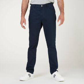H&H Men's Straight Coloured Pants