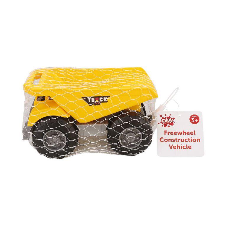 Play Studio Freewheel Construction Vehicle Assorted, , hi-res