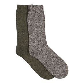 Back Country Men's Work Woolrich Sock 2 Pack