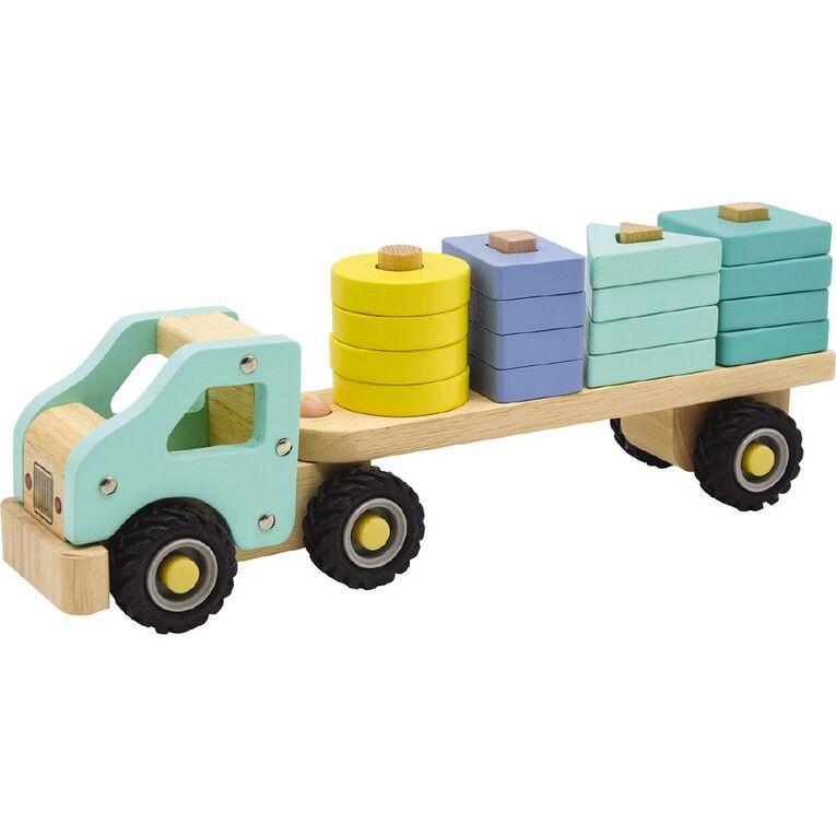 Play Studio Wooden Block Truck, , hi-res