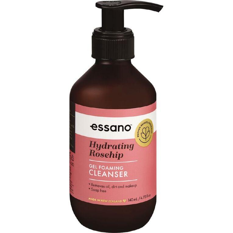 Essano Rosehip Foaming Cleanser 140ml, , hi-res