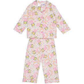 Peppa Pig Kids' Flannelette Pyjamas