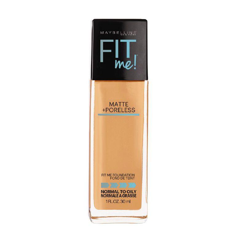 Maybelline Fit Me Matte + Poreless Foundation 322 Warm Honey, , hi-res