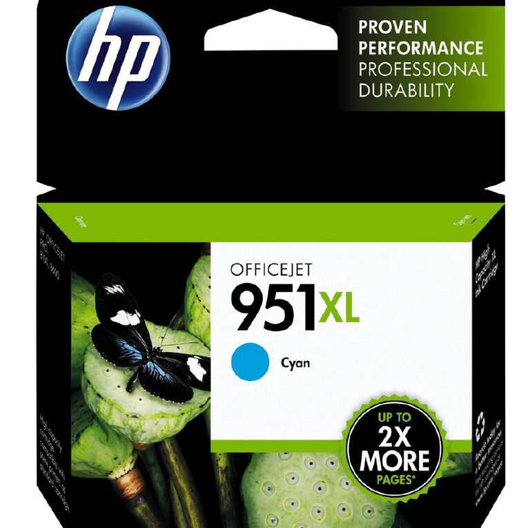 HP Ink 951XL Cyan (1500 Pages), , hi-res