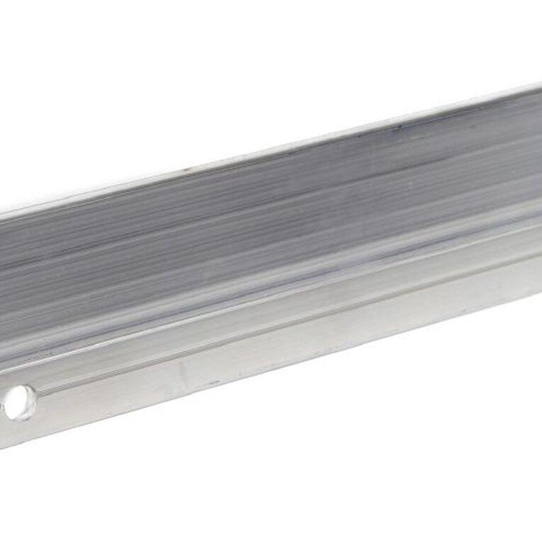 Deflecto Brochure Holder Lit Loc Aluminium Wall Bar 220mm, , hi-res