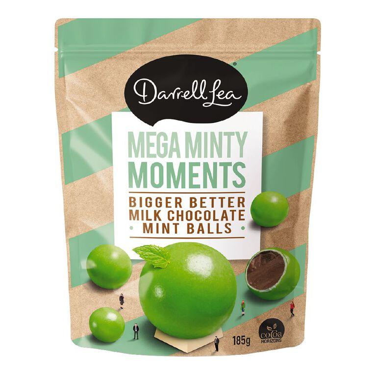 Darrell Lea BB's Choc Mint Balls 185g, , hi-res