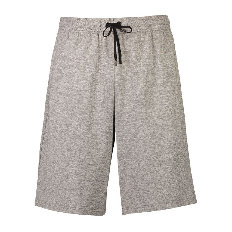 Active Intent Men's Marled Shorts, Grey Marle, hi-res