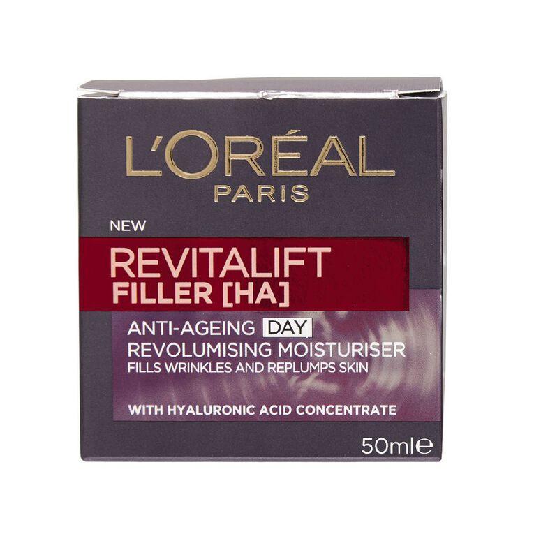 L'Oreal Paris Revitalift Filler Revolumising Day Cream 50ml, , hi-res