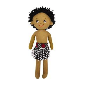 NZ Maori Plush Doll Tane 40cm 40cm