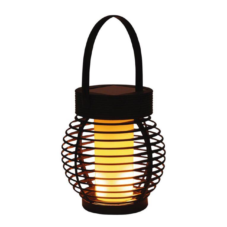 Kiwi Garden Solar Flame Lantern, , hi-res