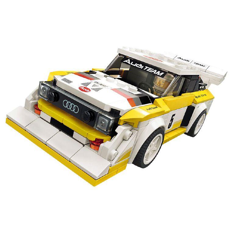 LEGO Speed Champions 1985 Audi Sport quattro S1 76897, , hi-res