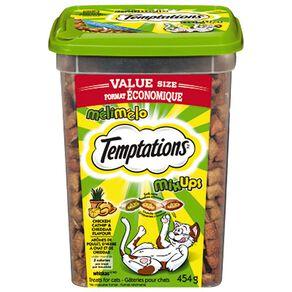 Temptations Mixups Chicken Catnip & Cheddar 454g Tub