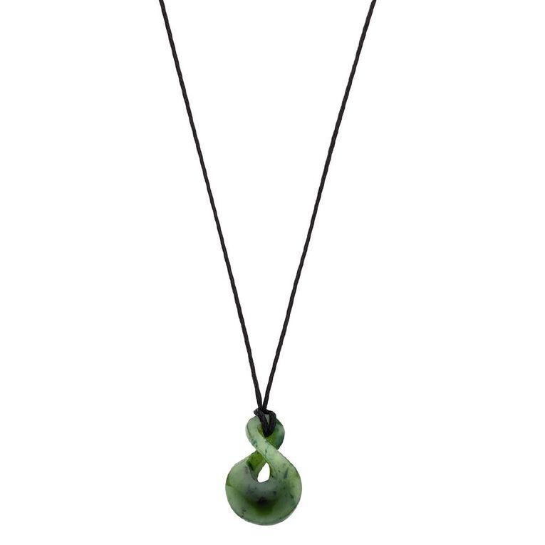 Jade Small Double Twist Pendant, , hi-res