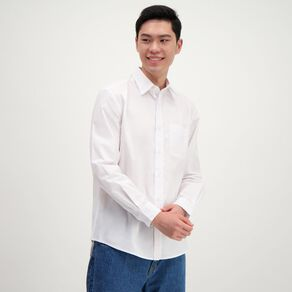 H&H Men's Long Sleeve Formal Shirt
