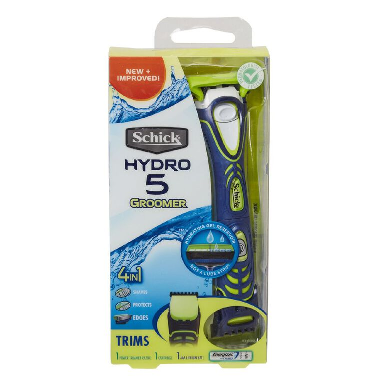 Schick Hydro Groomer Kit+1, , hi-res