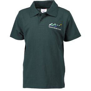 Schooltex Paparoa Range Short Sleeve Polo with Embroidery
