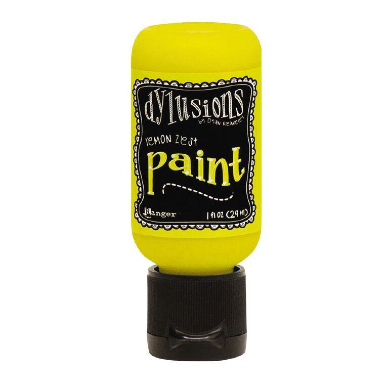 Ranger Dylusions Paint 1oz Lemon Zest, , hi-res
