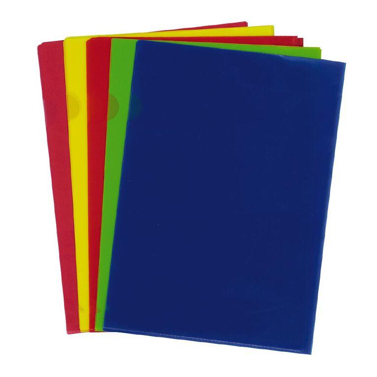 No Brand L-Shaped Pockets Multi-Coloured 15 Pack, , hi-res