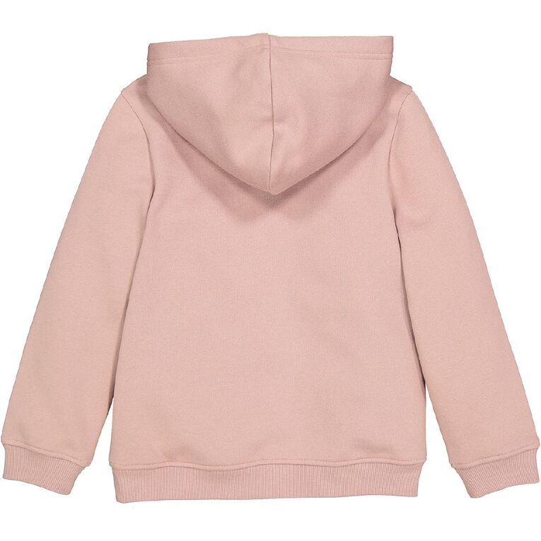 Young Original Print Pull Over Hoody Sweat, Pink Mid, hi-res